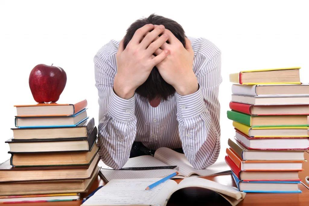 Признаки экзаменационного стресса
